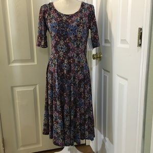NWT LuLaRoe Nicole Dress SZ Large
